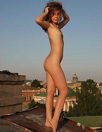 Strange Naked Sunbathing
