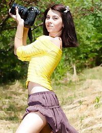 Scorching camera dame